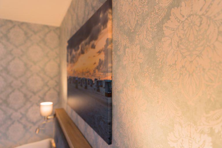 Detailansicht des Doppelzimmers