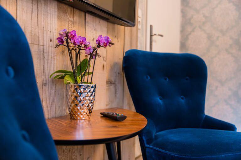 Frische Blumen in Ihrem Doppelzimmer in Sankt Peter Ording
