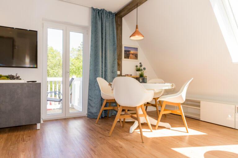 Ferienwohnung Studio mit Balkon