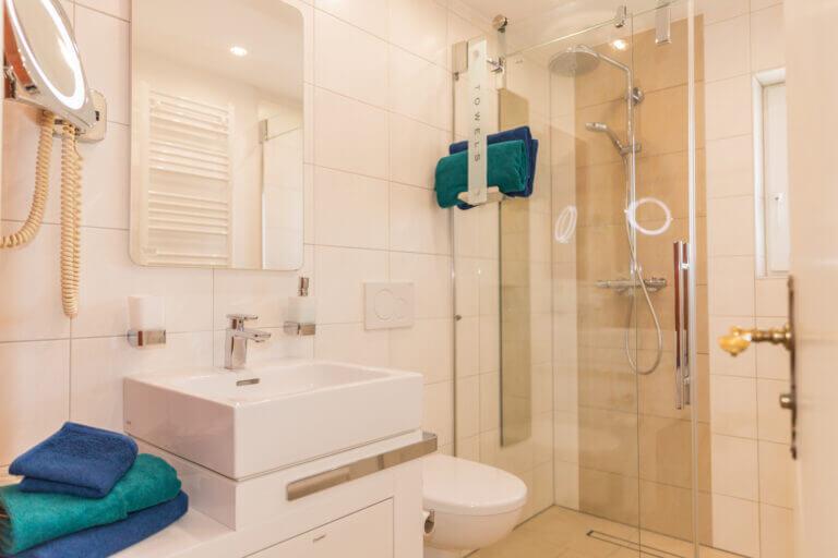 Ferienwohnung Sankt Peter Ording mit modernem Badezimmer