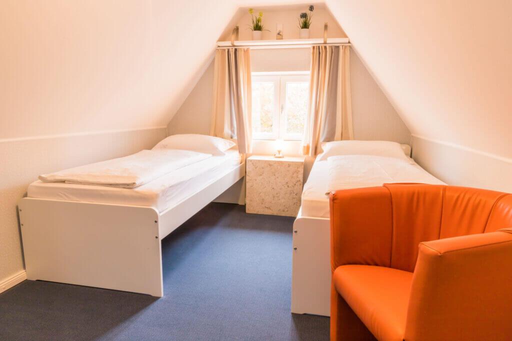 Zweibettzimmer für Ihren Urlaub in Sankt Peter Ording